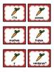 Spanish scrambled sentences: La comida