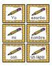 Spanish scrambled sentences: los materiales escolares/la escuela