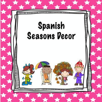 Spanish seasons decor