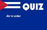 Spanish español ser vs estar quiz or worksheet reteach recovery