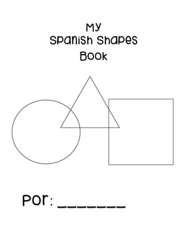Spanish shapes packet