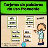 Spanish  sight Words cards