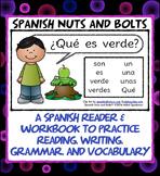 ¿Qué es verde? A beginning Spanish workbook/reader (indef