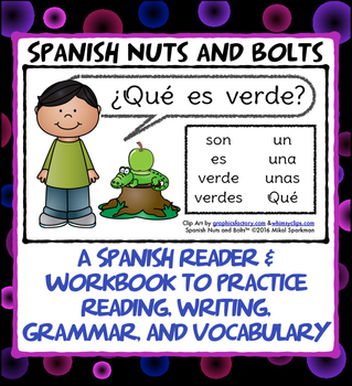 ¿Qué es verde? A beginning Spanish workbook/reader