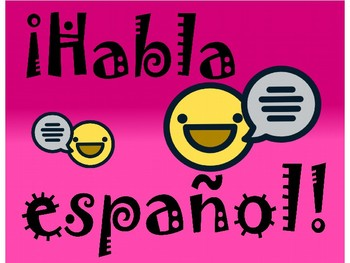 Spanish signs for your classroom