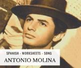 Spanish singer - Antonio Molina - La copla