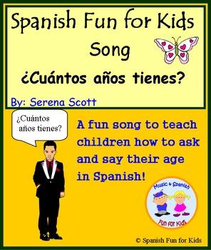 Spanish song ¿Cuántos años tienes?