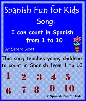 Spanish song: Numbers from 1 to 10