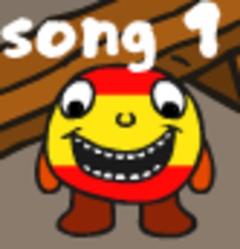 Spanish song and worksheets to support introductions and family members