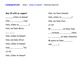 Spanish song and worksheets to support introductions and f