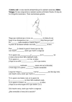 Spanish song for beginners