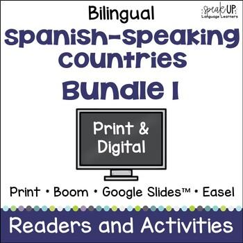 Spanish-speaking Countries Bundle #1 {BILINGUAL}