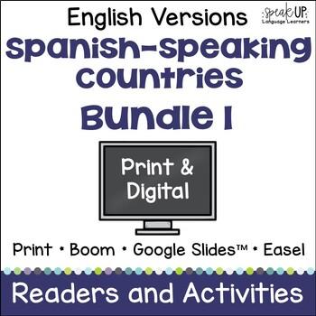 Spanish-speaking Countries Bundle #1 {English Version}
