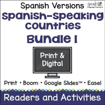 Spanish-speaking Countries Bundle #1 {en español}