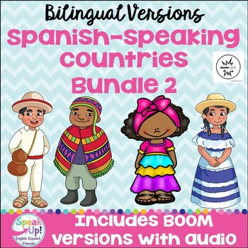 Spanish-speaking Countries Bundle #2 {BILINGUAL Bundle}