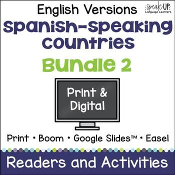Spanish-speaking Countries Bundle #2 {English Version}