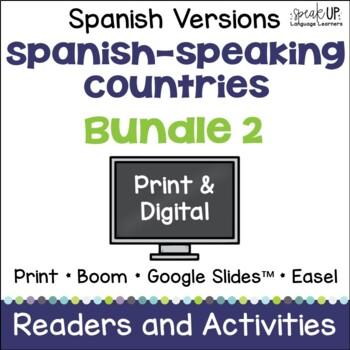 Spanish-speaking Countries Bundle #2 {en español}