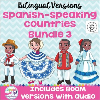 Spanish-speaking Countries Bundle #3 {BILINGUAL}