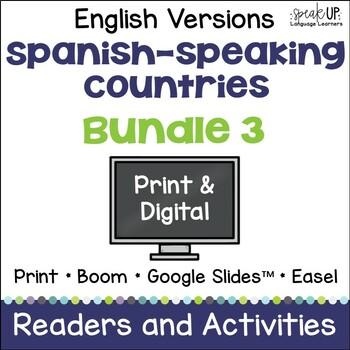Spanish-speaking Countries Bundle #3 {English Version}