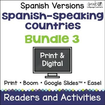 Spanish-speaking Countries Bundle #3 {en español}