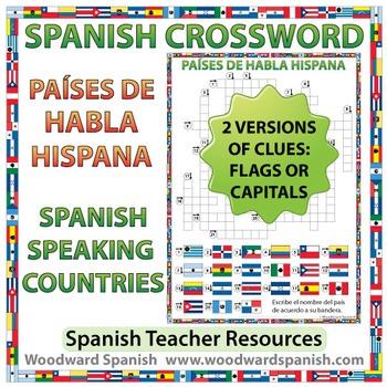 Spanish-speaking Countries Crossword