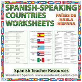 Spanish-speaking Countries Worksheets