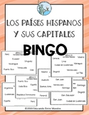 Spanish speaking countries and capitals BINGO paises hispanos