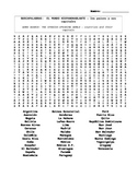 Spanish speaking countries and capitals word search