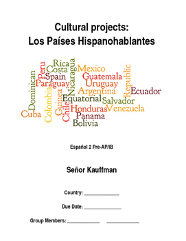 Spanish speaking countries cultural project
