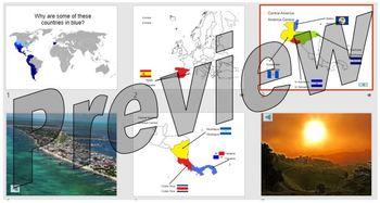 Spanish speaking countries round the world