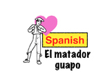 Spanish storytelling: El matador guapo animated video story