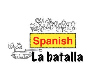 Spanish storytelling: La batalla animated video story