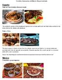 Spanish sub packet Interesting foods Spanish-speaking world PDF and Google Slide