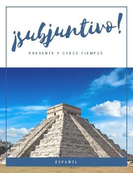 Spanish subjunctive practice booklet - Cuaderno para practicar subjuntivo