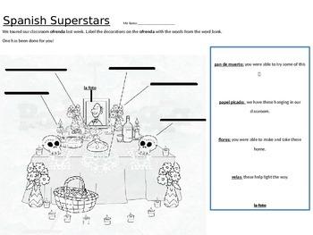 Spanish superstar work homework Spanish