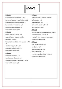 Spanish suport work level A2