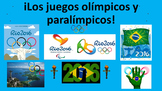 Spanish teaching resources. Olympic  Paralympic Games. Juegos olímpicos Rio 2016