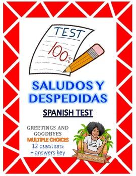 Spanish test - Saludos y Despedidas (Greetings and goodbyes)