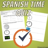 Spanish time quiz