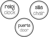 *SAMPLE* Spanish Classroom Labels (2015 version)