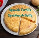 Spanish tortilla española recipe speaking activity