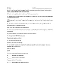 Spanish tú commands story and written practice