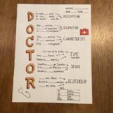 Spanish verb Ser ~poster DOCTOR ~Ser conjugation ~bulletin board worksheet verb