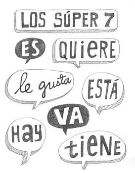 Spanish irregular verbs ~Spanish super 7 verbs ~Los super