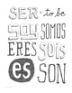 Instant download PDF Spanish verbs Ir, Ser, & Tener Word walls Bulletin Board