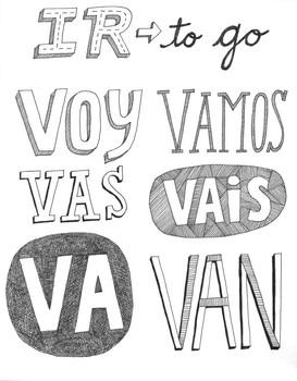 Spanish Verb Ir Worksheets & Teaching Resources | TpT
