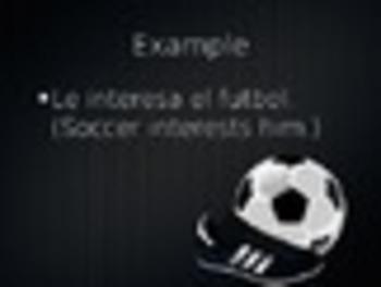 Spanish Gustar, Aburrir, & Interesar Keynote Presentation for Mac, iPad