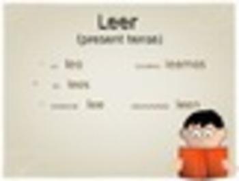 Spanish Oir and Leer Keynote Slideshow Presentation for Mac