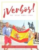 Spanish verbs practice booklet - Cuaderno para practicar v