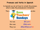 Spanish verbs (sports) Lesson plan, PowerPoint (with audio